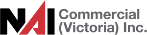Logo of NAI Commercial Real Estate Victoria where Andre works