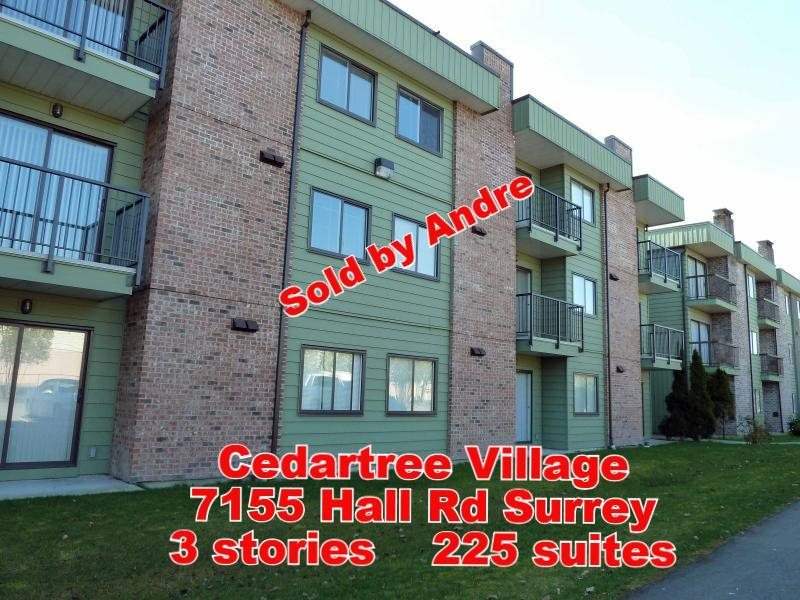 Apartment building with 225 suites at 7155 Hall Rd in Surrey sold by Andre