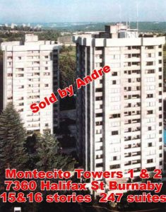 Apartment building with 247 suites at 7360 Halifax St in Burnaby sold by Andre sold by Andre